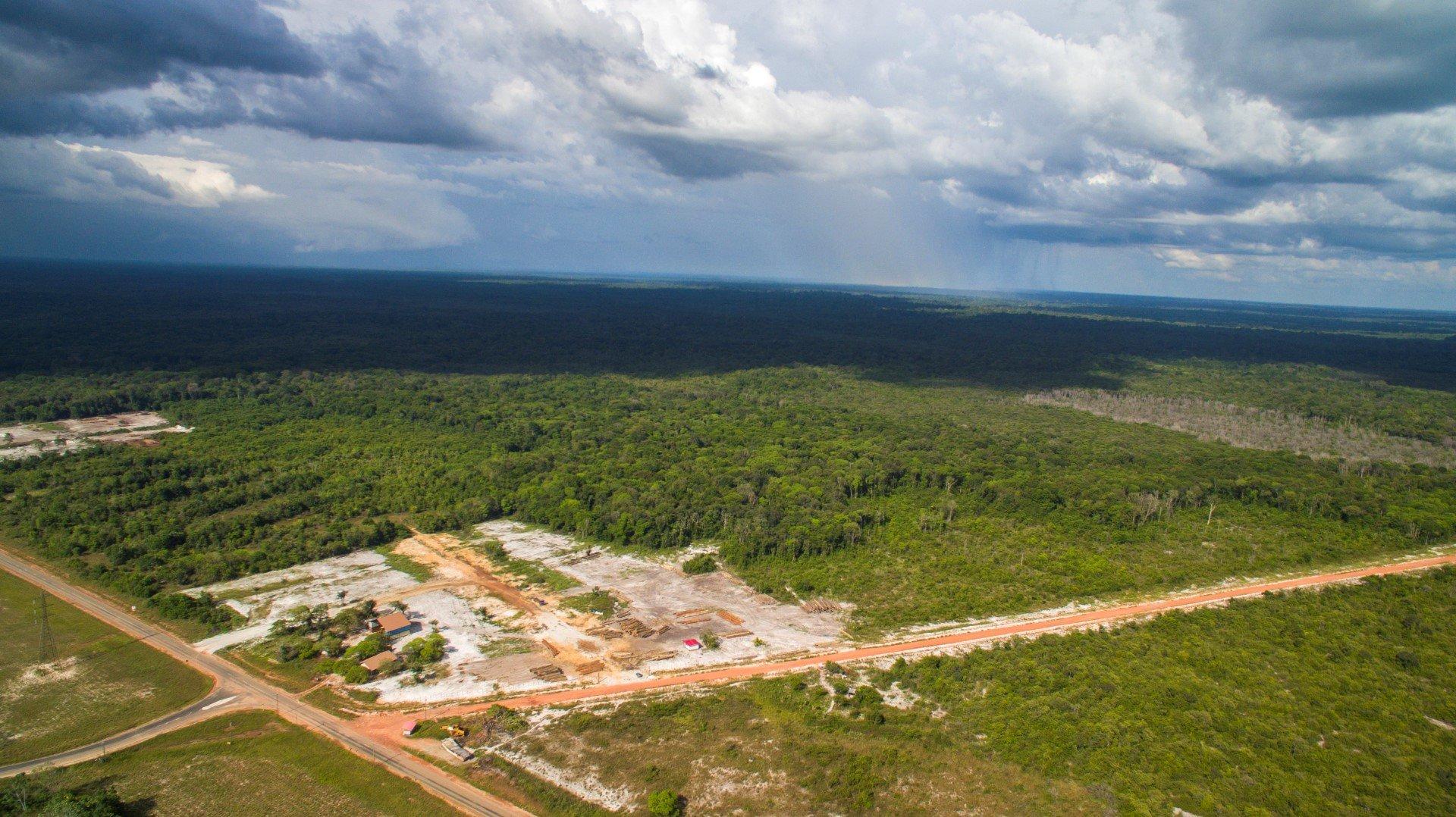 Afobakaweg 56 hk Weg naar Phedra - Toplocatie aan de Afobakaweg, ideaal voor houtverwerking. - Surgoed Makelaardij NV - Paramaribo, Suriname