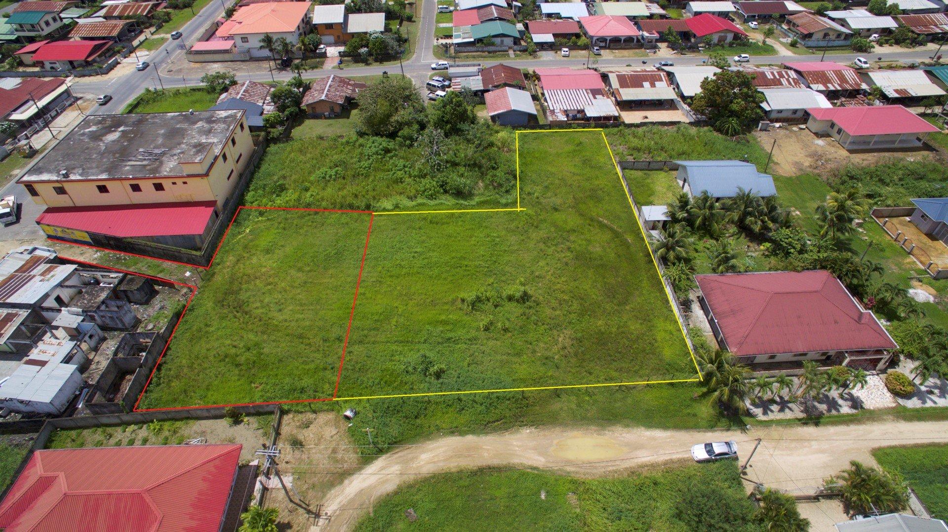 Jacobkondrestraat - Goed gelegen terrein te Kasabaholo - Surgoed Makelaardij NV - Paramaribo, Suriname