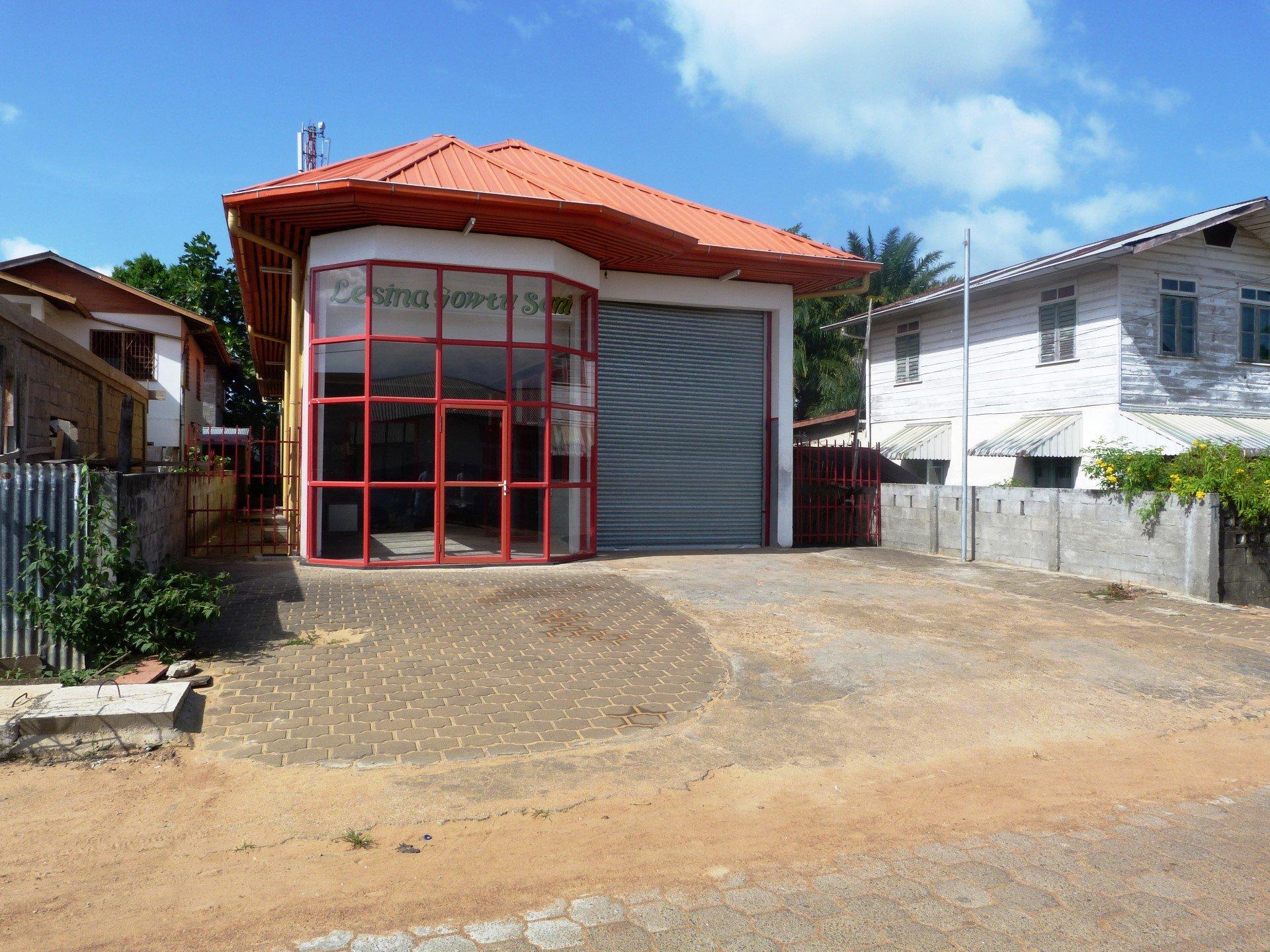 Groenhartstraat 481 - Bedrijfsloods - Surgoed Makelaardij NV - Paramaribo, Suriname