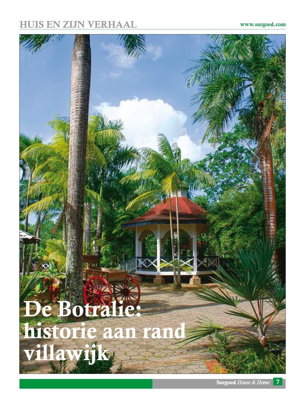 De Botralie: Historie aan rand villawijk