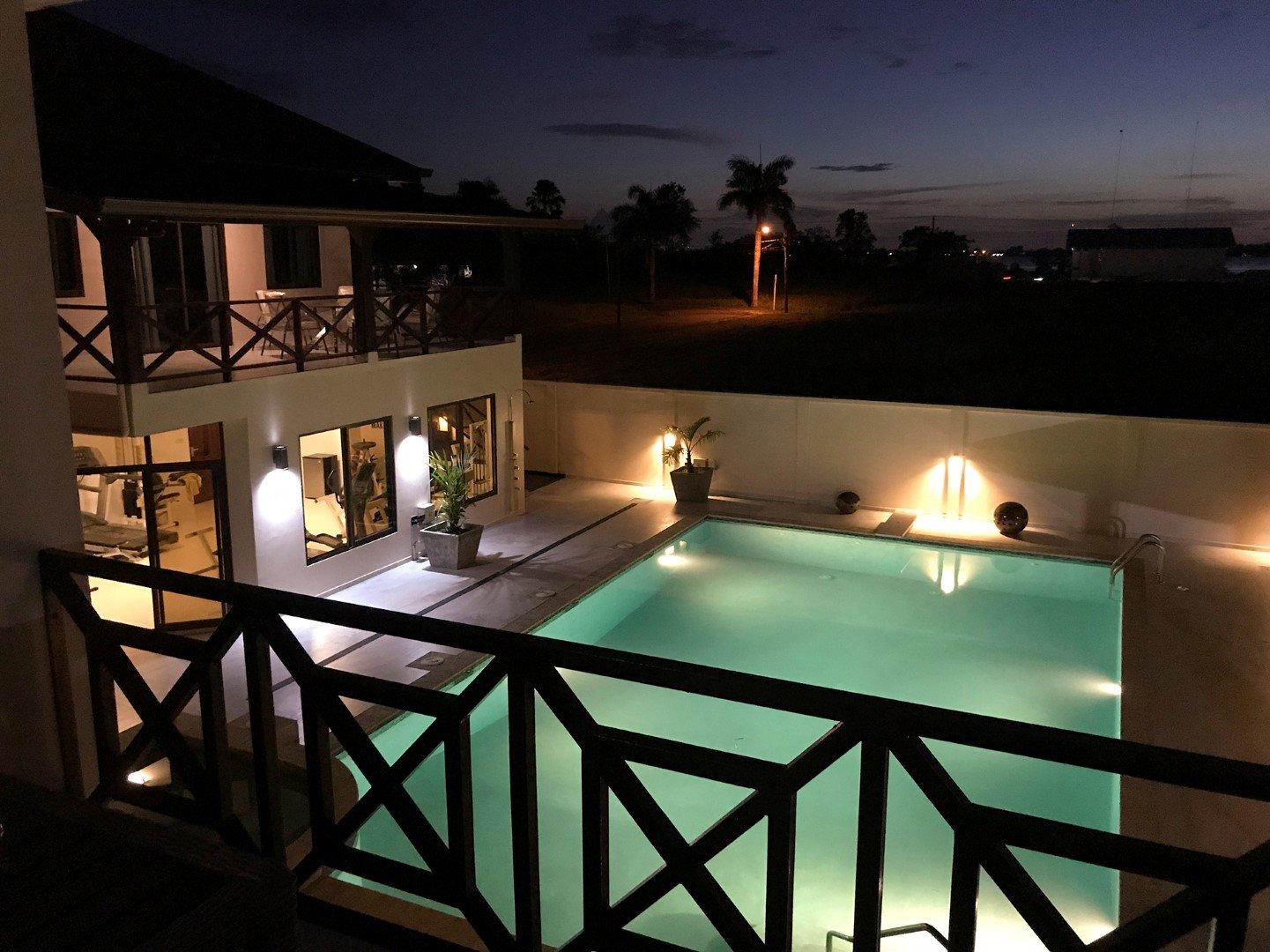 Palm Village pc 8 - Luxe villa complex met zwembad en appartementen - Surgoed Makelaardij NV - Paramaribo, Suriname
