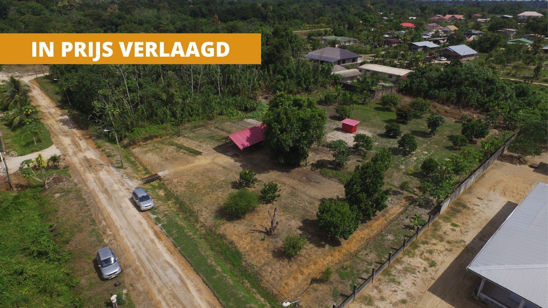 Dammalangprojekt 128-129 - Bouwrijpe kavel te Saramacca - Surgoed Makelaardij NV - Paramaribo, Suriname