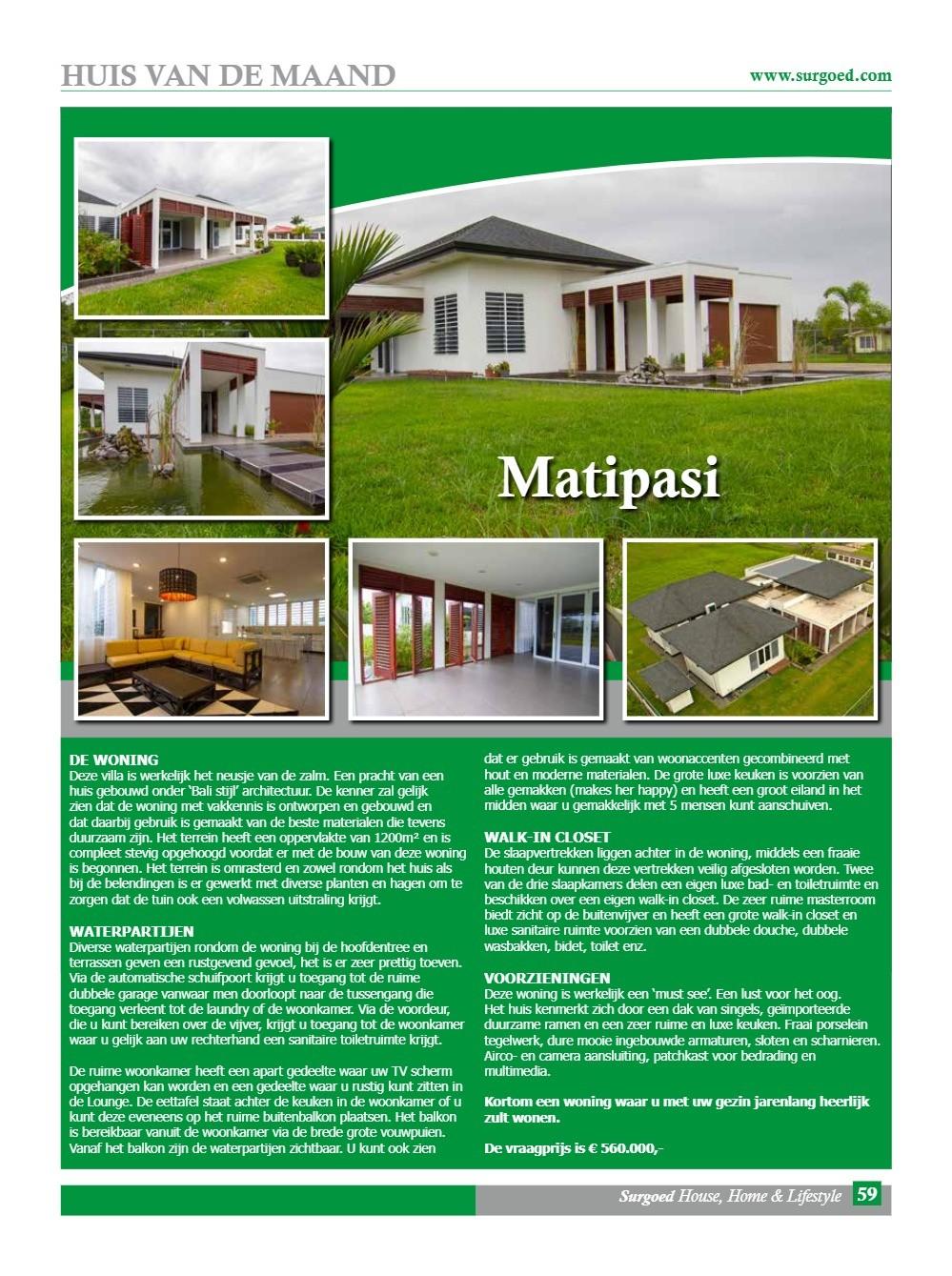 Huis van de maand: Matipasi - 'Bali stijl' architectuur
