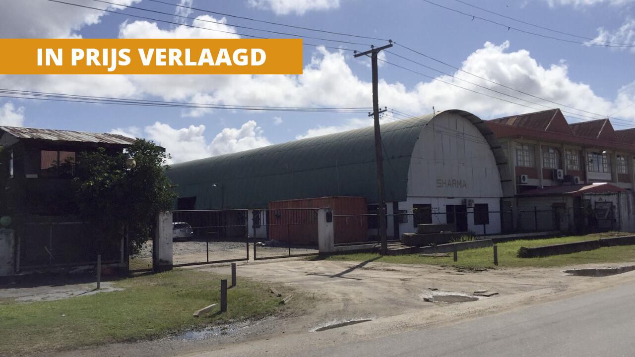 Industrieweg Zuid 18 Beekhuizen Paramaribo Surgoed Makelaardij NV Zakenpand H0317B6 1 LABEL - Industrieweg Zuid 18