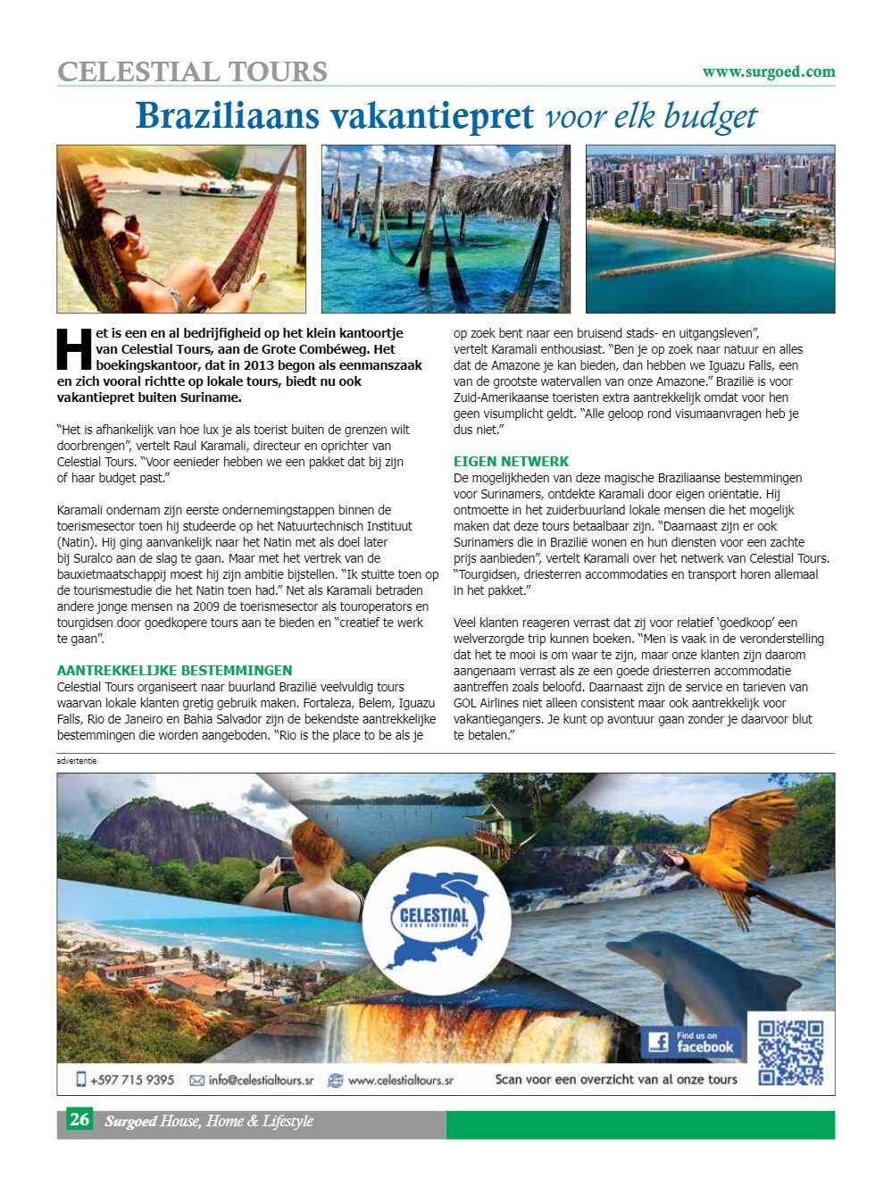 Braziliaans vakantiepret voor elk budget