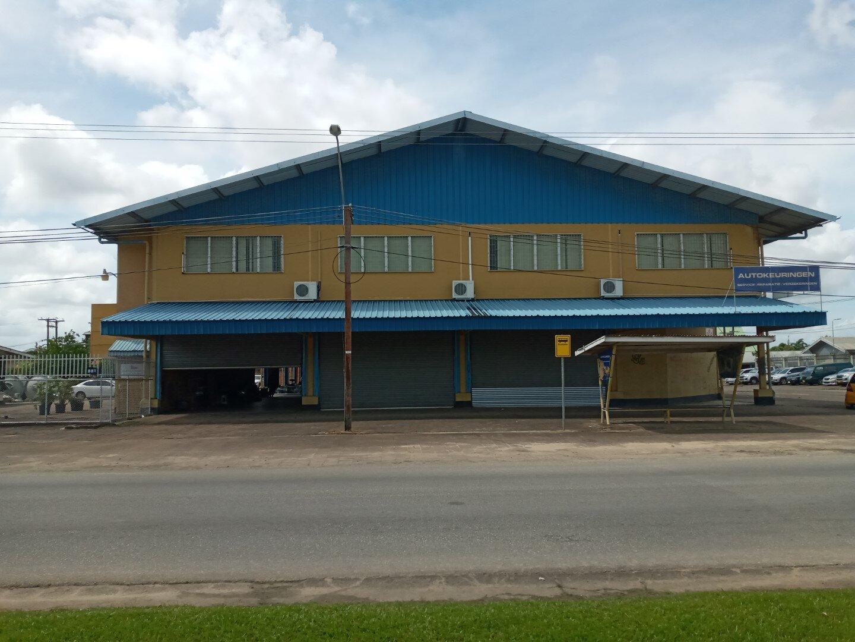 Bonistraat 91 - Bedrijfsruimte te huur - Surgoed Makelaardij NV - Paramaribo, Suriname