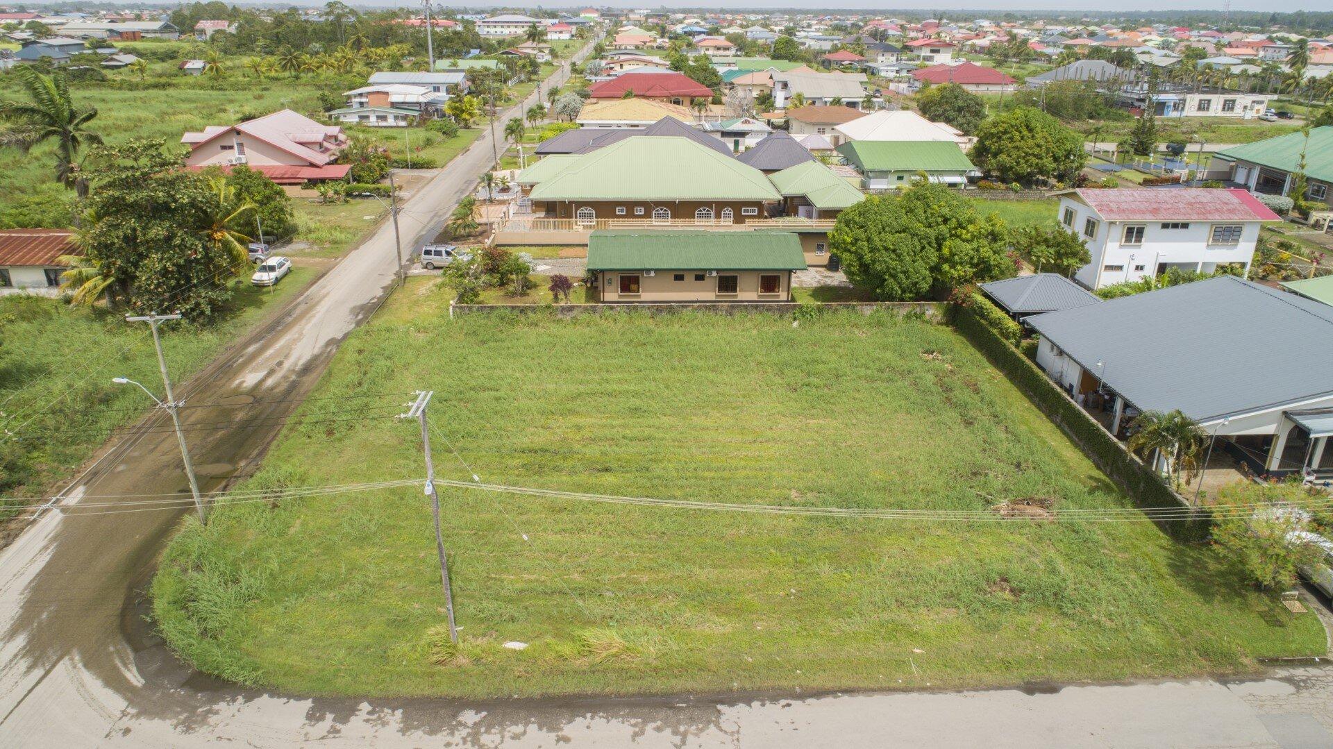 Powisistraat Perc. 305g - Perceel gelegen aan de Powisistraat - Surgoed Makelaardij NV - Paramaribo, Suriname