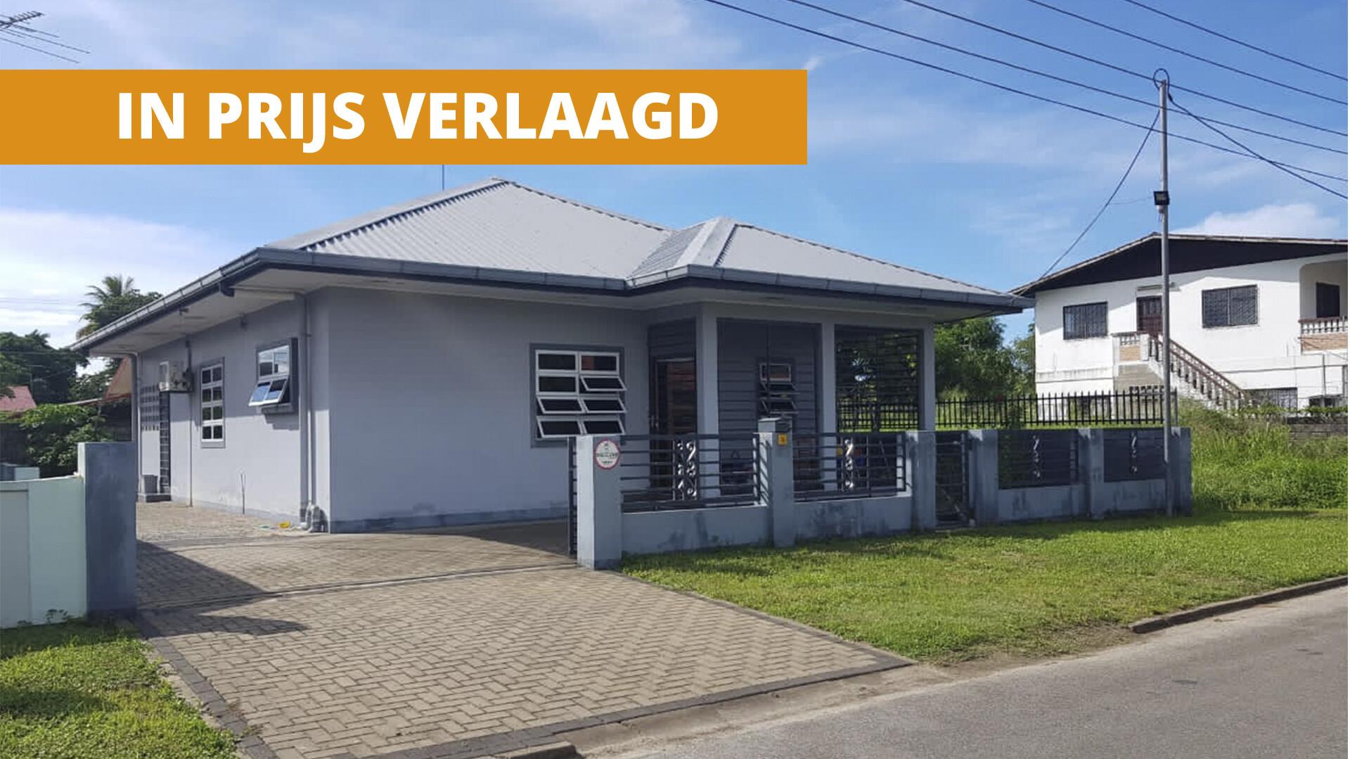 Indiralaan 14 - Woning voorzien van alle gemakken - Surgoed Makelaardij NV - Paramaribo, Suriname