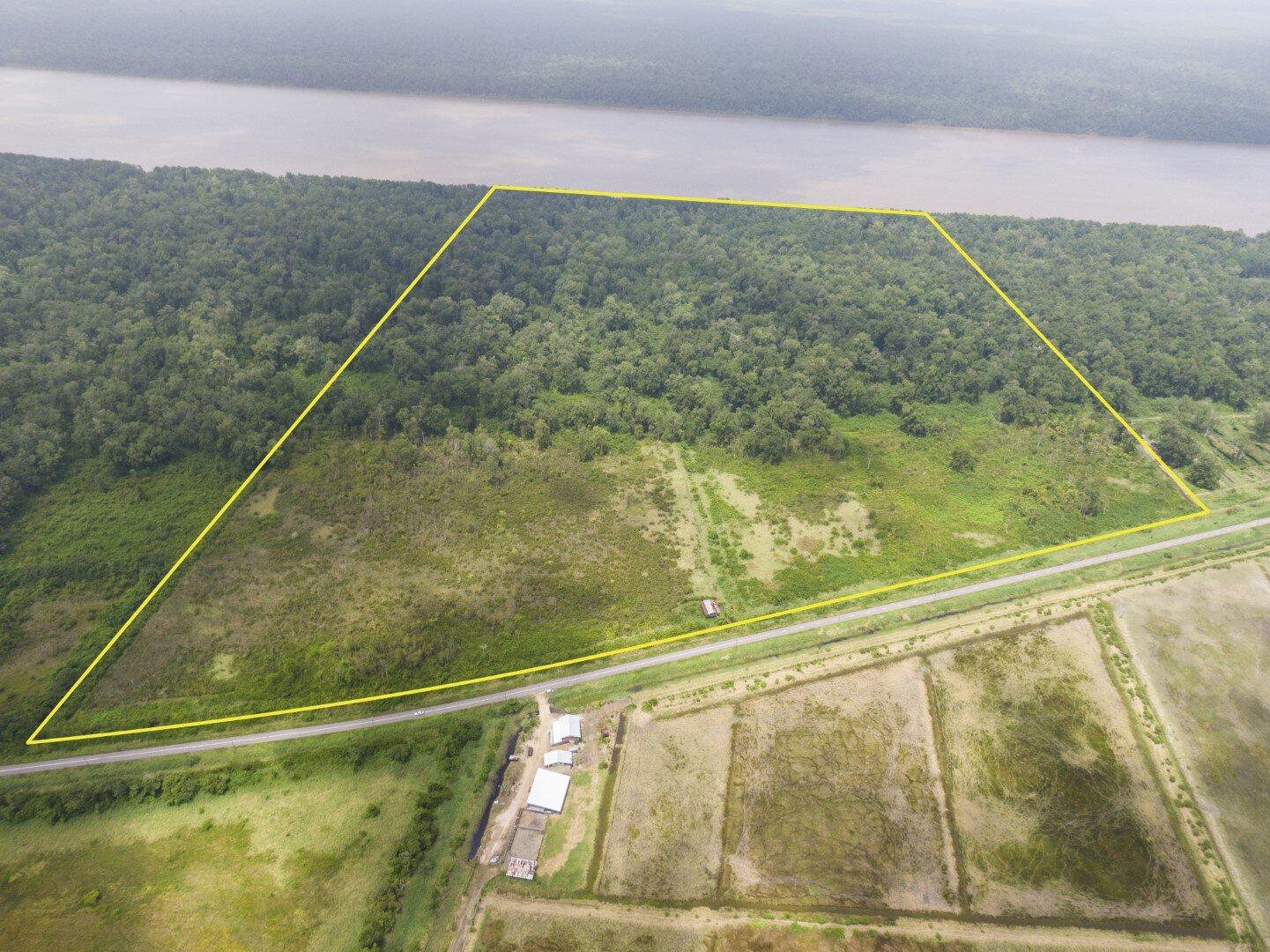 Weg naar Coppename 30 - Investeren in 61 ha. landbouwgrond langs de Saramaccarivier - Surgoed Makelaardij NV - Paramaribo, Suriname