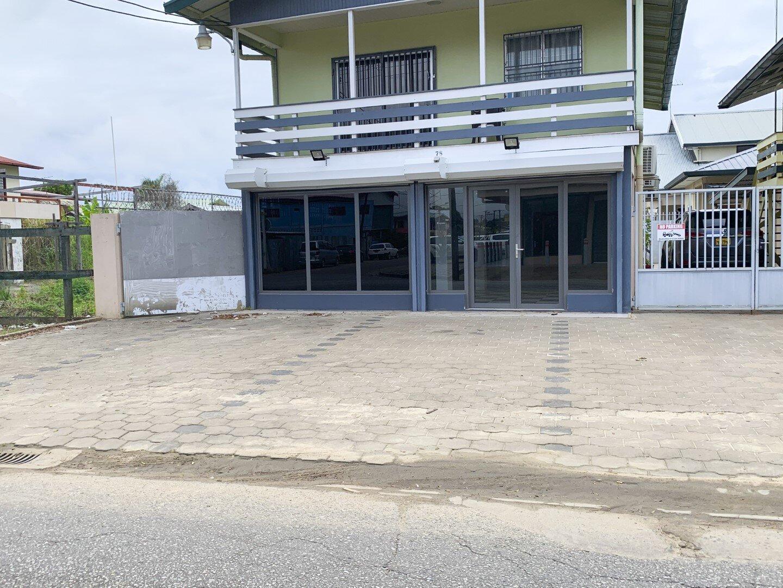 Mahonylaan 78 - Bedrijfsruimte te huur - Surgoed Makelaardij NV - Paramaribo, Suriname