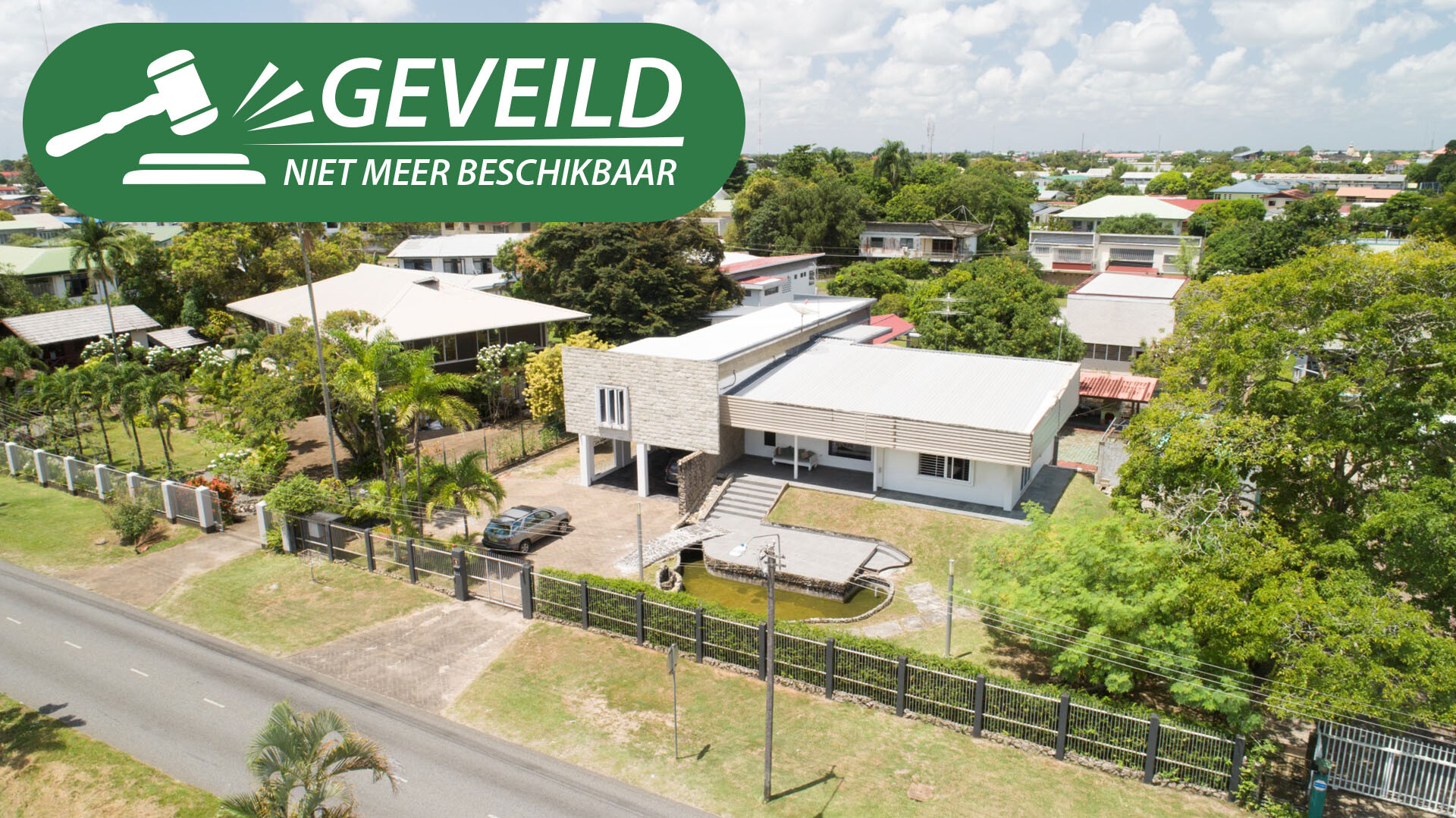 Dr. Sophie Redmondstraat 233 - Splitlevel woning gelegen op zeer goede locatie - Surgoed Makelaardij NV - Paramaribo, Suriname